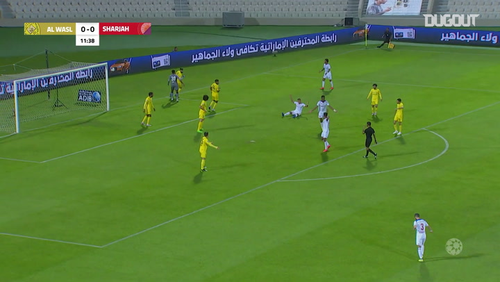 Arabian Gulf League: Al Sharjah 2-1 Al Wasl