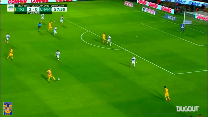 Great Tigres goals during 2020