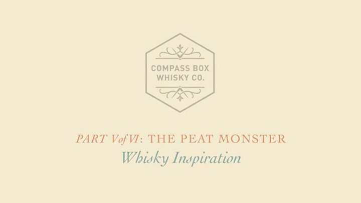 Preview image of The Compass Box The Peat Monster Scotch Whisky, 75 video