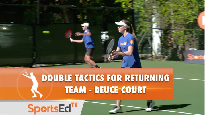 DOUBLES TACTICS FOR RETURNER TEAM - DEUCE COURT