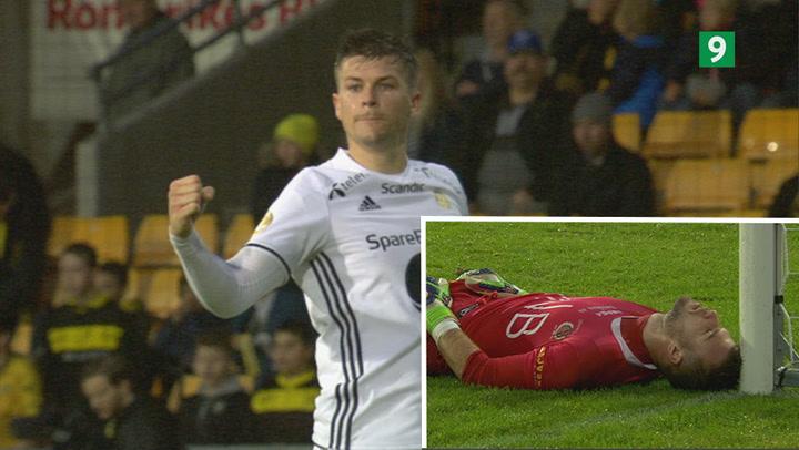 Norske Andre Helland scorer fantastik mål for Rosenborg!