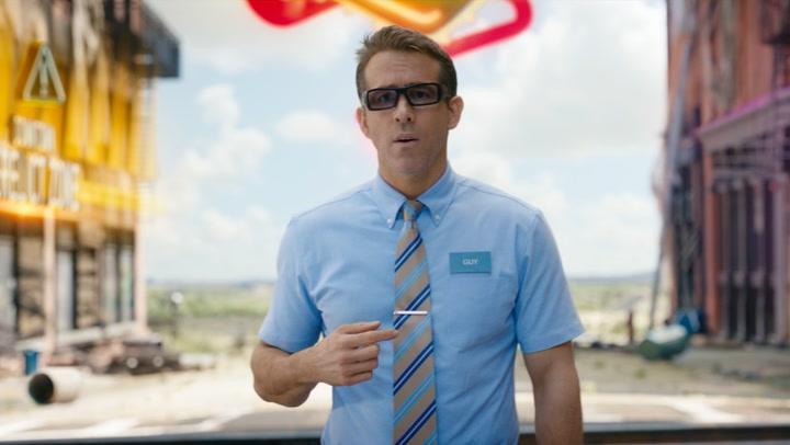 'Free Guy' Clip: Blue Shirt Guy