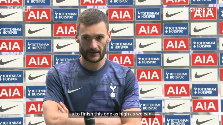 Lloris: 'We are preparing in the best way for next season'