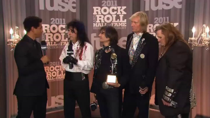 Fuse Presents: Rock Hall: Alice Cooper Interview Part 2 - 2011 Rock & Roll Hall of Fame Induction Ceremony