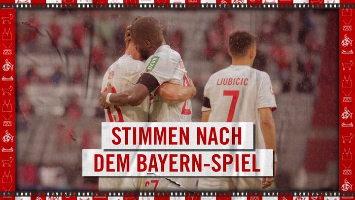 Stimmen nach München