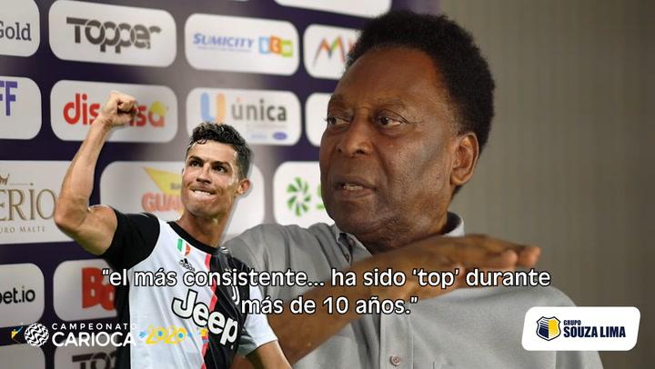 """Pelé: """"Hoy por hoy, Cristiano es el mejor"""""""