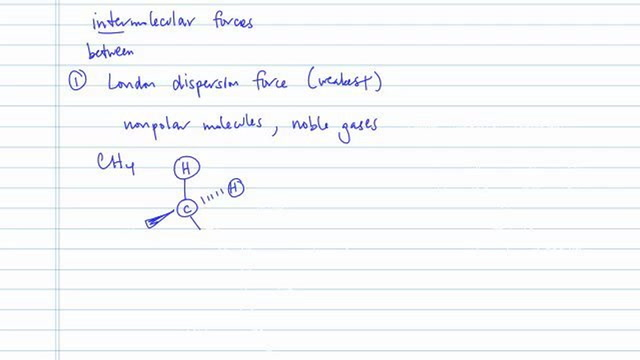 Tips for Identifying Intermolecular Forces