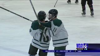 Boys Hockey: West Fargo wins in OT, South-Shanley beats North