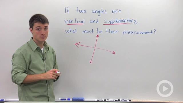 Vertical Angles - Problem 3