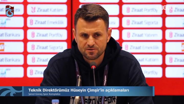 Hüseyin Çimşir'in ZTK'da Denizlispor Maçı Sonrası Açıklamaları