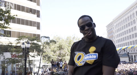 TROPHIES | Draymond Is On Top Of The World