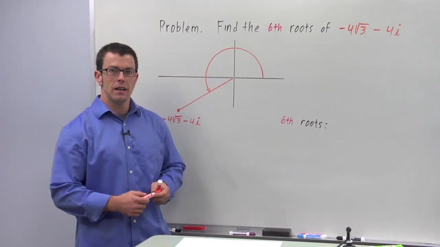 More Roots of Complex Numbers - Problem 1