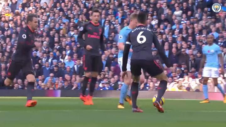 Manchester City's Premier League winning run over Arsenal