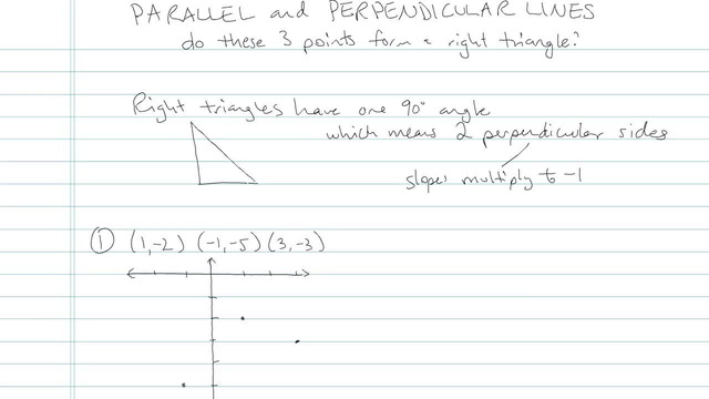 Parallel and Perpendicular Lines - Problem 5