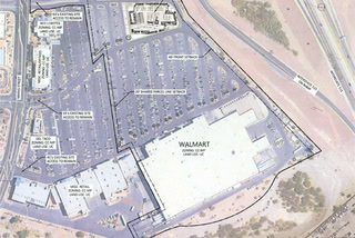 Walmart container park in Henderson – VIDEO