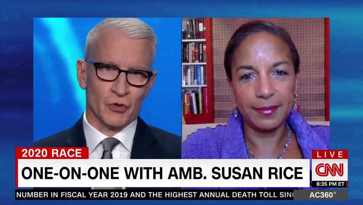 Susan Rice: Putin Doing 'Happy Dance' Over Trump's 'Unhinged Raving and Ranting'