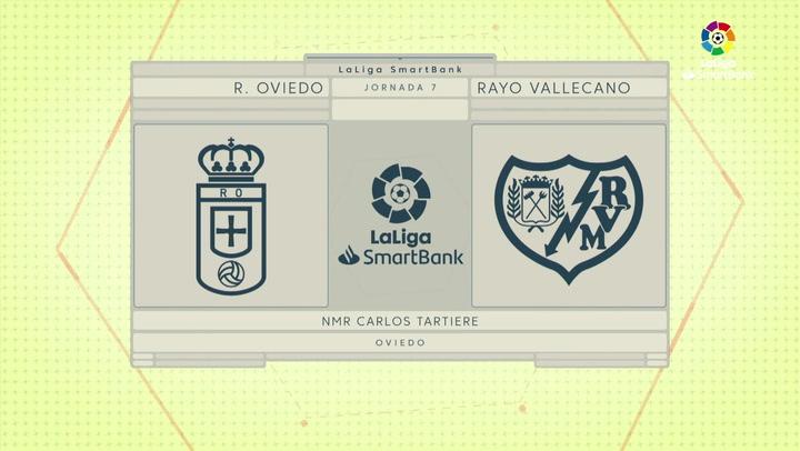 LaLiga SmartBank (J7): Resumen del Real Oviedo 0-0 Rayo Vallecano