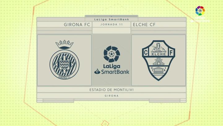 LaLiga SmartBank (J11): Resumen y goles del Girona 0-2 Elche