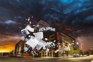Luxury Eclipse Theaters in downtown Las Vegas had high hopes