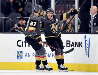 Golden Edge: Karlsson Scores First Goal; Knights Beat Sabres