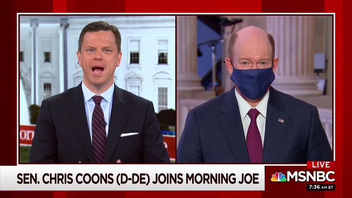 Coons on Impeachment: 'New Evidence' Every Day Showing Trump 'Spread Baseless Lies'