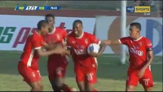 Jamal Charles anota el empate 2 - 2 de Real Sociead ante Honduras Progreso