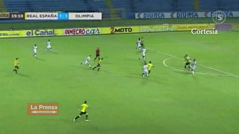 Video: Rony Martínez anota golazo frente al Olimpia