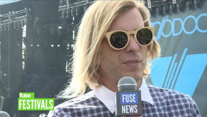 Festivals: Voodoo 2012: AWOLNATION Have Hundreds of Ideas for Next Album