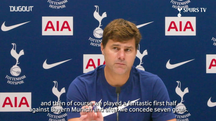 Pochettino: The most important thing is that the squad is together