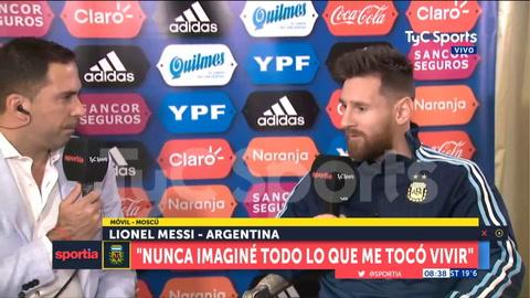 Messi puso en duda que pueda volver a Newells