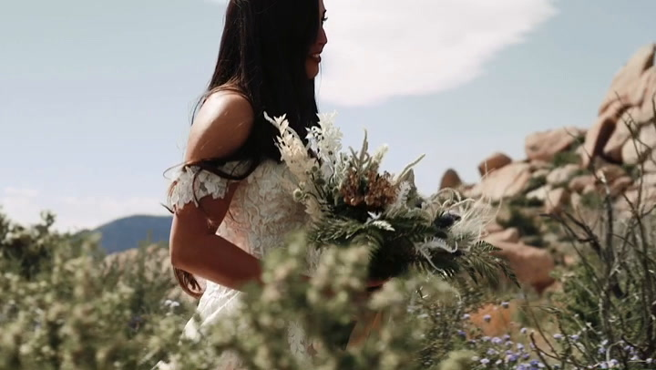 Nikki + Dane | Yucca Valley, California | Echo Ranch