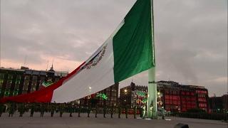 México recuerda a víctimas de terremotos de 1985 y 2017