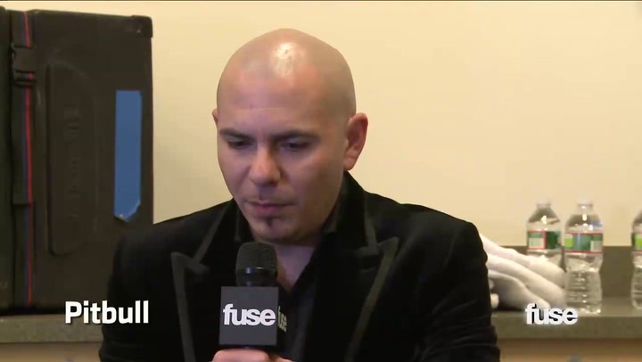 Fuse Presents: Jingle Ball: Pitbull Wants You To See Passion, Not a Perfectionist - Fuse Presents Z100's Jingle Ball Live From Madison Square Garden