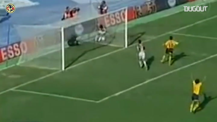 Raúl Rodrigo Lara's header goal from the edge of the box vs Monterrey
