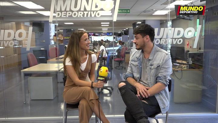 """El test más personal de Luis Cepeda: """"Me gustaría llenar el Camp Nou"""""""