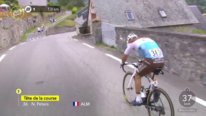 Así ha ganado Nans Peters la etapa 8 del Tour de Francia