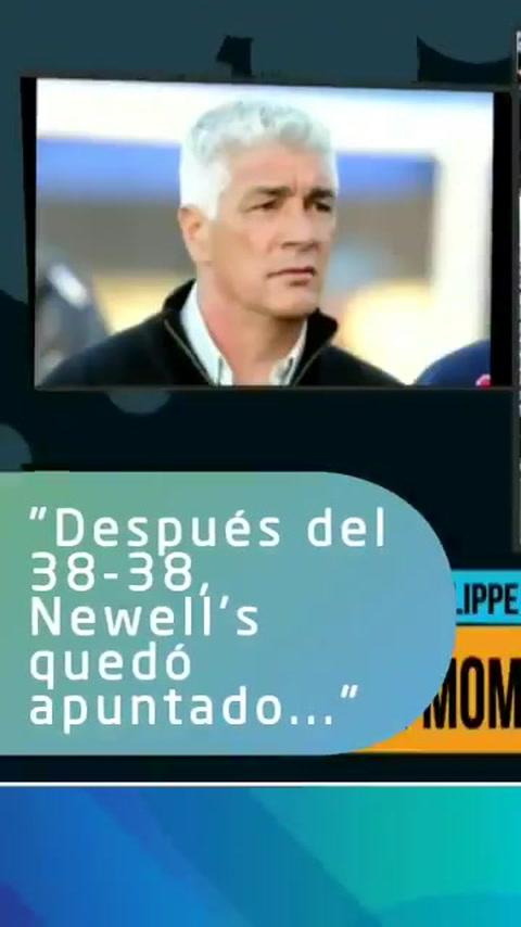 De Felippe: Después del 38 a 38 Newells quedó apuntado