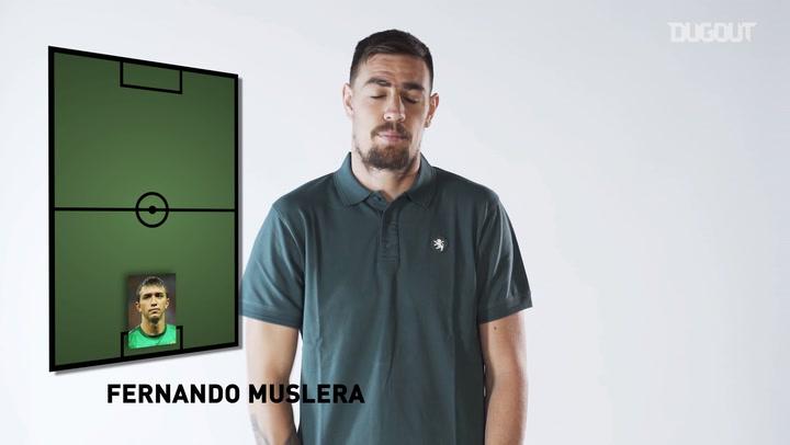 Sebastián Coates Reveals His Dream 5-a-side Team
