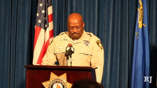 LVMPD Briefing on OIS #13