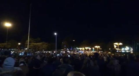 Cientos de rosarinos hicieron oír sus reclamos en el Monumento