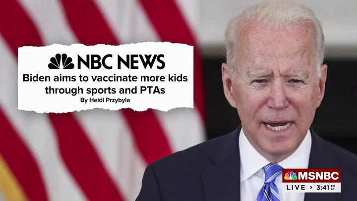 MSNBC's Wallace: 'If Kids Aren't In School It's Because Republicans Didn't Get Vaccinated'
