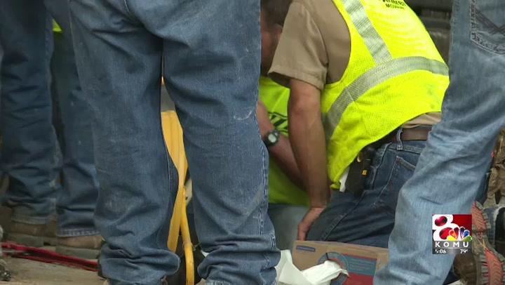 Columbia gas leak