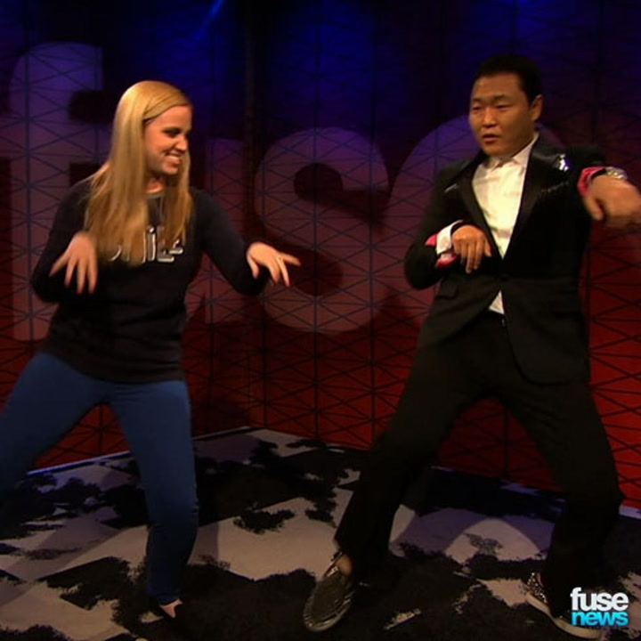 Psy Learns Some New Dance Moves