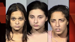 3 women arrested after staged car accidents