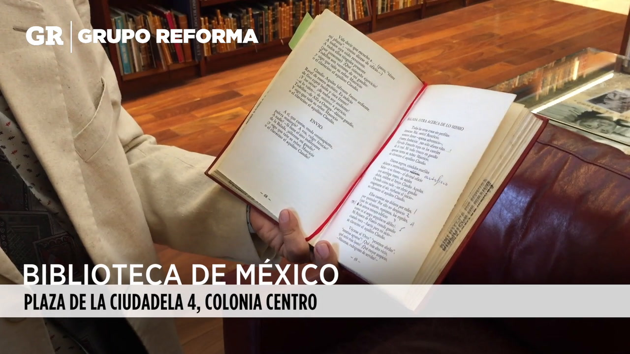 Video: Biblioteca Ali Chumacero