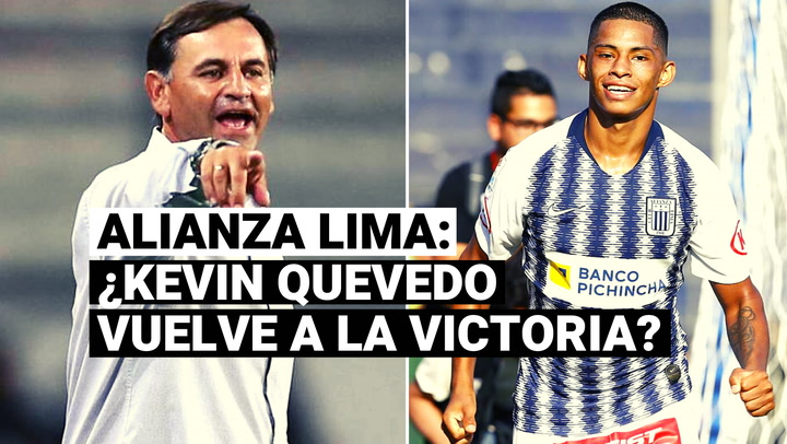 Alianza Lima: Carlos Bustos se refirió al posible fichaje de Kevin Quevedo para jugar en la Liga 2