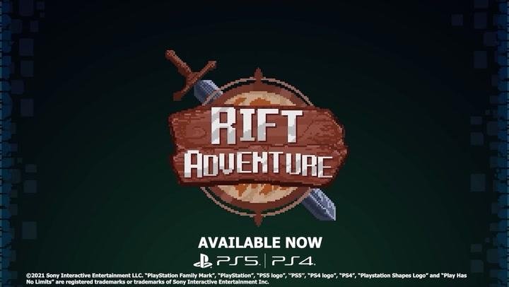 Rift Adventure launch trailer now available