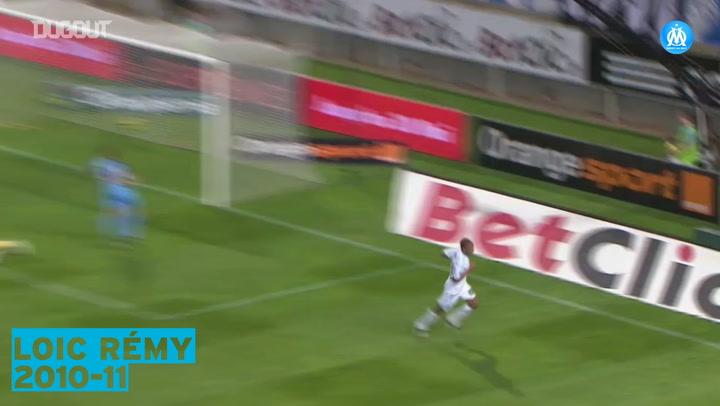 OM's top five goals vs Brest