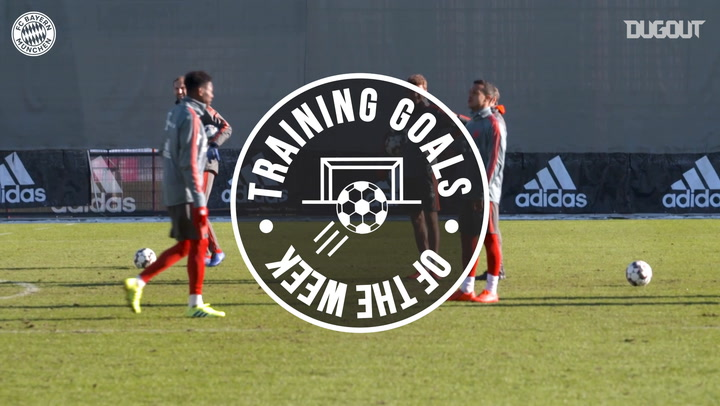 FC Bayern's Training Goals Of The Week #16