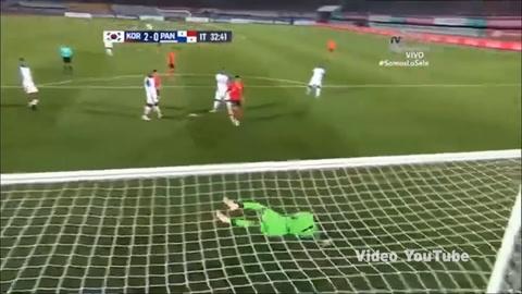 Korea 2-2 Panamá (Amistosos internacionales 2018)